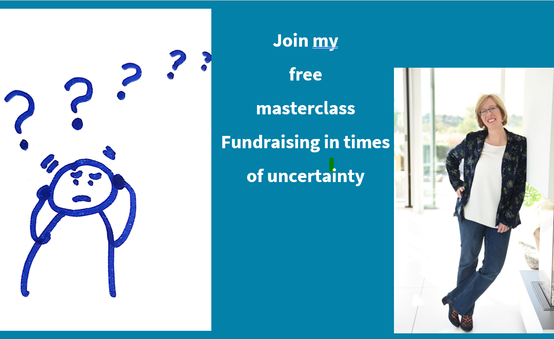 FREE Masterclass Fundraising in Times of Uncertainty