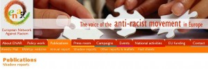 European Network Against Racism (ENAR) produces shadow reports